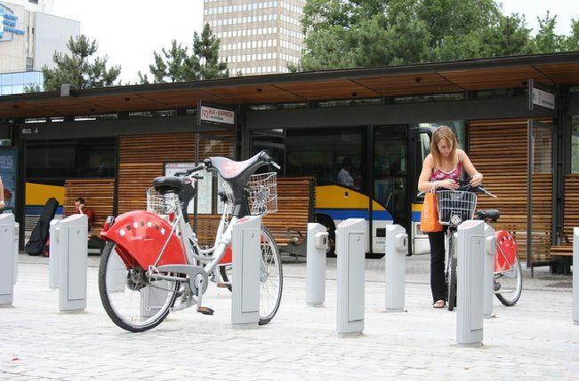 Cartographie interactive des stations de vélos en France et dans le monde