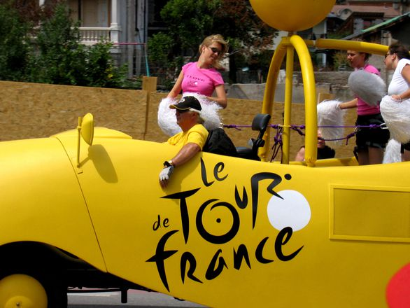 Carte étapes tour de France 2016