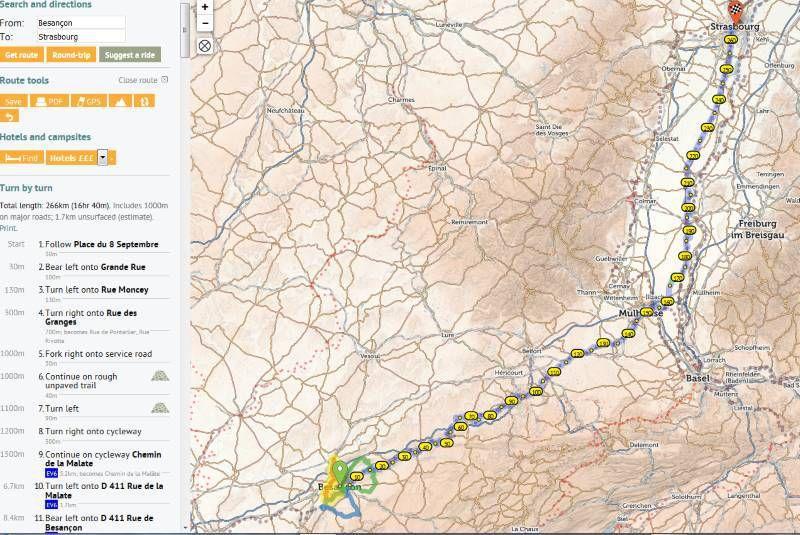 Des cartes pour préparer ses parcours VTT ou cyclotourisme