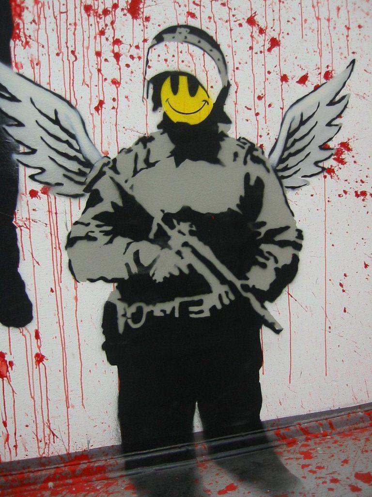 Carte de France du street art (art urbain)