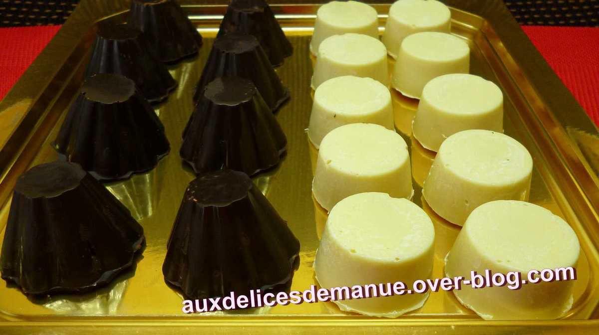 chocolat noir au kiwi et pâte d'amande