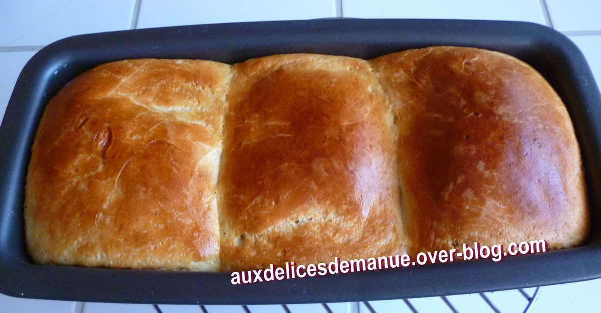 brioche de pain au lait