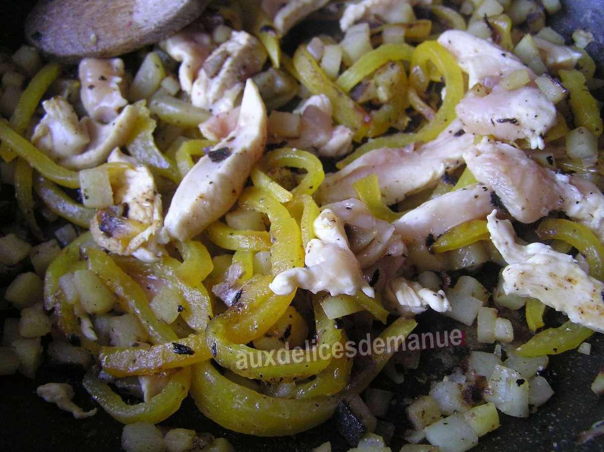 curry de poulet et légumes au lait de coco