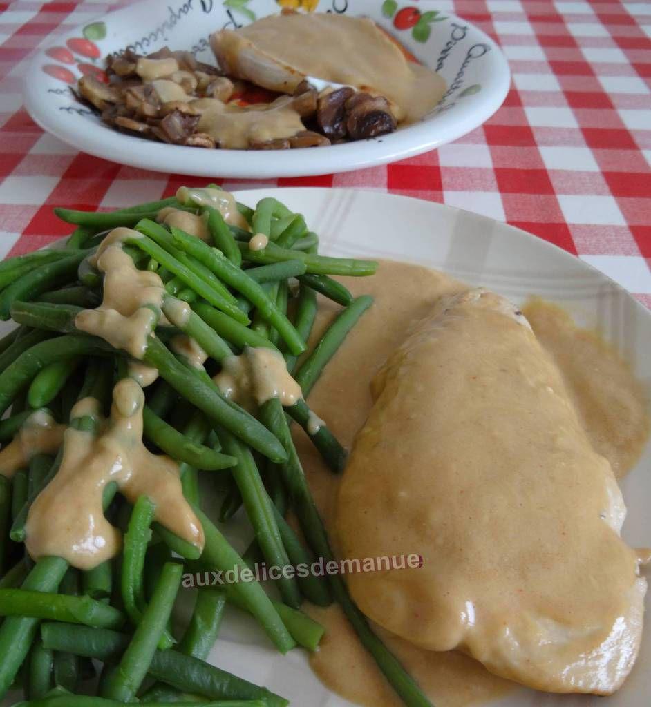dinde, recette légère, parmesan, escalopes de dinde en sauce, sauce parmesan, filets de dinde, recette rapide