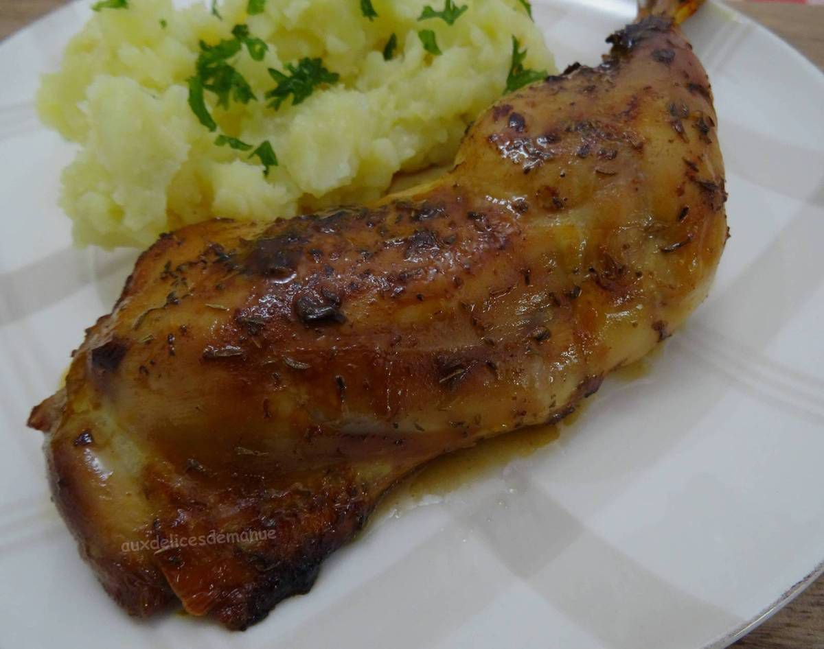 poulet, volaille, poulet mariné, cuisson au four, plat pas cher, poulet rôti, cuisses de poulet