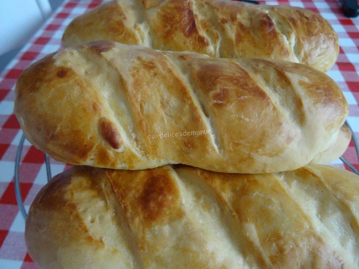 pain, petit pain, pain brioché, pain hot-dog, petit-déjeuner, goûter