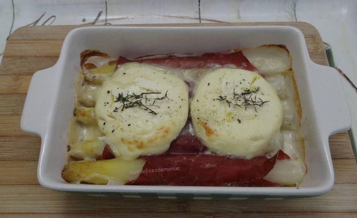 asperges,asperges blanches,gratin d'asperges,asperges chaudes,entrée,bresaola
