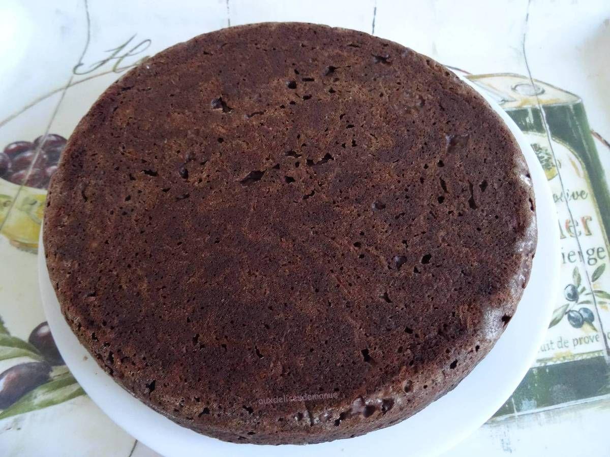 Gâteau au chocolat et courgette