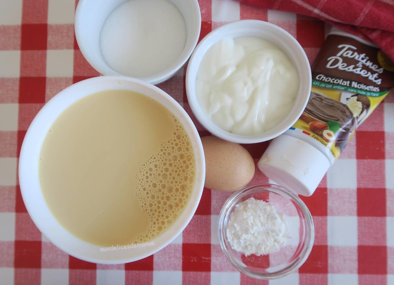 Crème chocolat-noisette à la yaourtière, ou pas