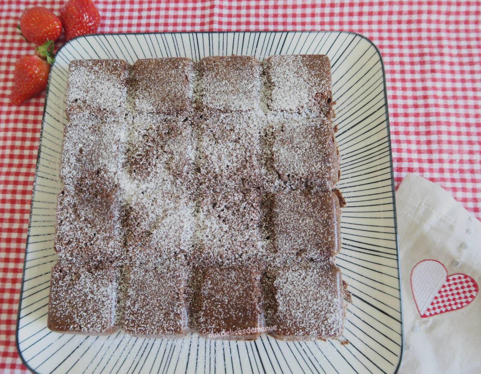 Moelleux chocolat-noisettes