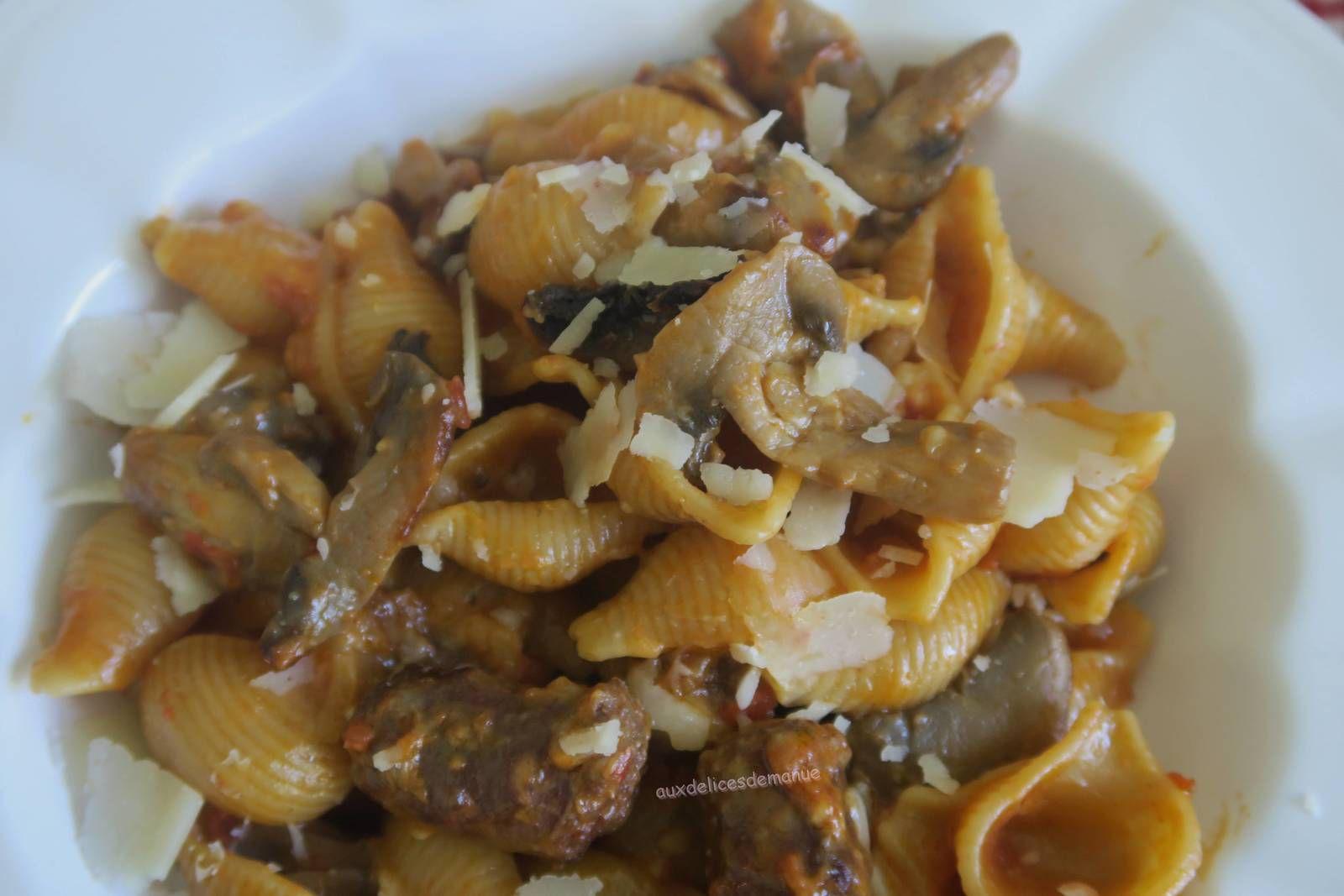 One pot pasta merguez, au Cookéo ou pas.