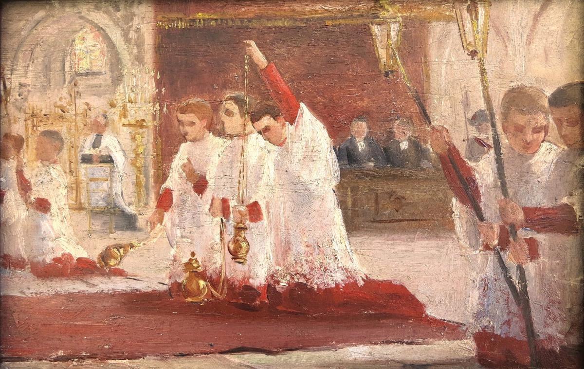 Rendez vous pour les servants de messe: