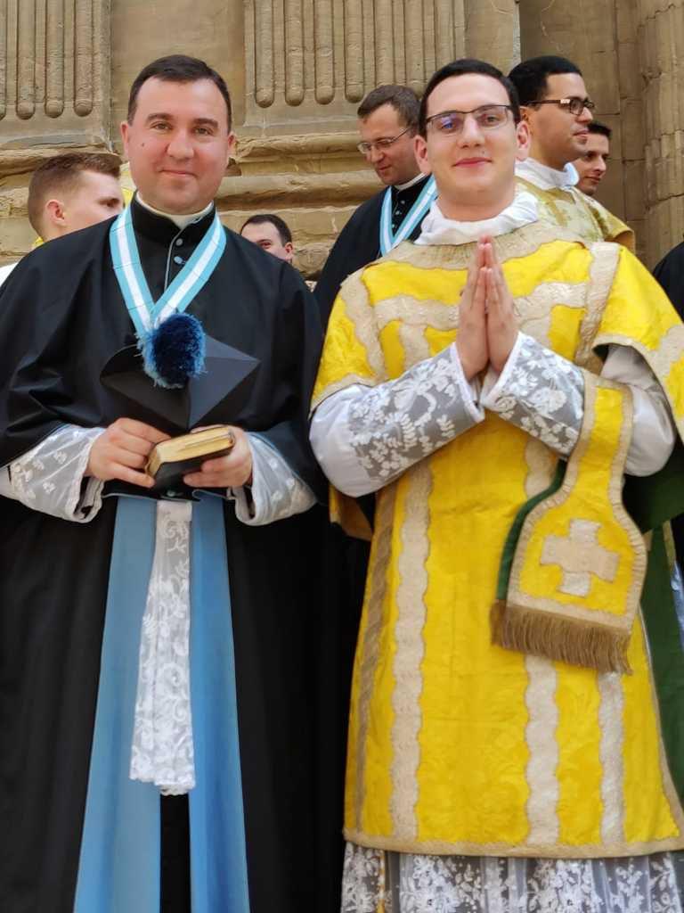 Ordination sous-diaconale de l'abbé Maïdanatz