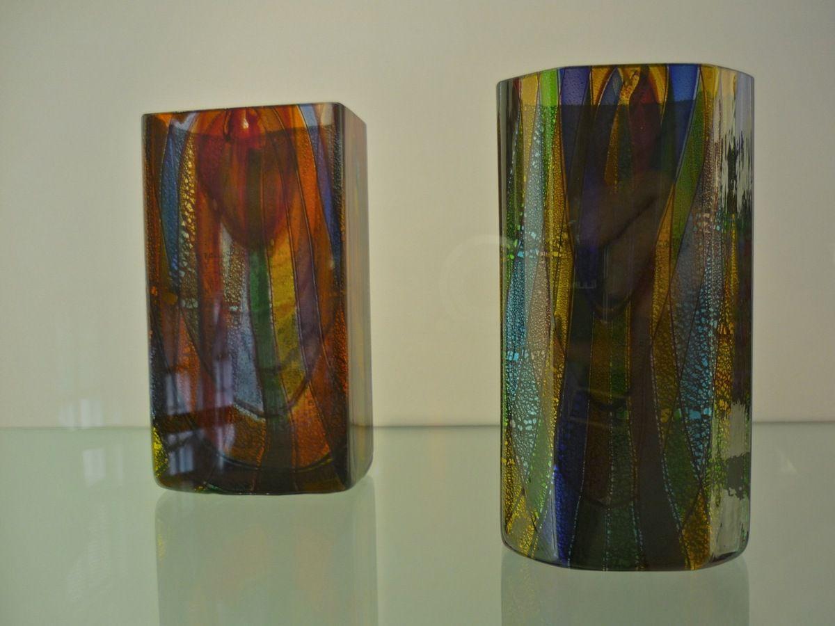 """Vasen """"Oriente"""" Entwurf Ercole Barovier, Ausführung Barovier & Tosco (um 1940)"""
