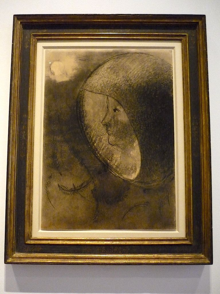 Odilon Redon, Village cellulaire (ou : Eclosion), 1890-95 ; Hommage à Goya (c. 1885) ; Marx Ernst, Le triomphe de l'amour/ fausse allégorie, 1937