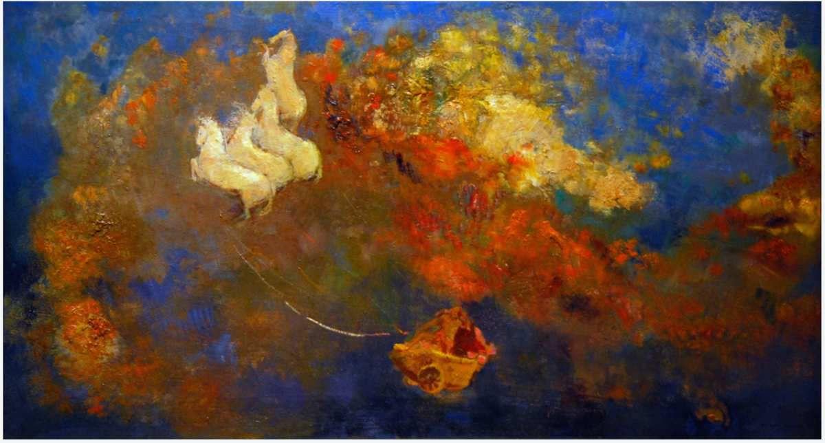 Goya... Piranèse...  Ensor (Insectes singuliers)... Redon (le Char d'Apollon)... Dubuffet (Olympia, 1950) © Internet