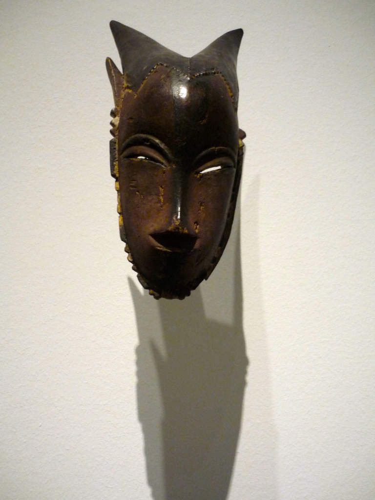 Master of Buafle, Mask with Horns, Côte d'Ivoire, XIXe siècle