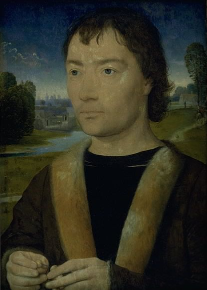 Hans Memling, Portrait of a Young Man with a Rosary  © Internet