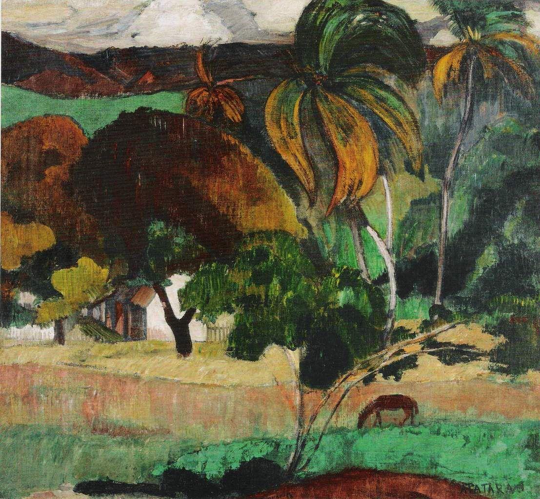Paul Gauguin, Landscape from Tahiti, c. 1893