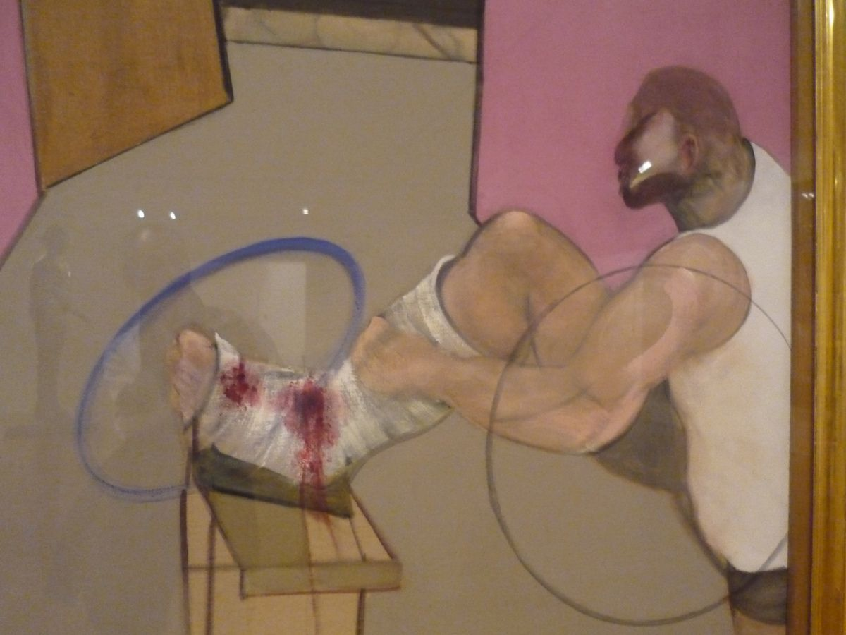 F. Bacon, Œdipus end the Spinx after Ingres (1983) ; Oscar Dominguez, le Couple (1937)