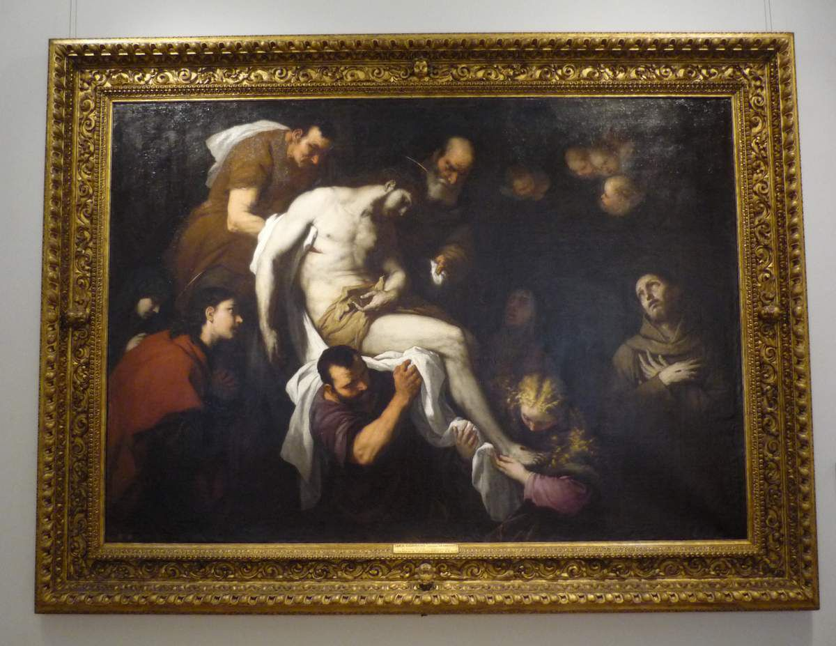 Luca Giordano, The Ecstasy of St. Francis, Oil on canvas, c. 1665