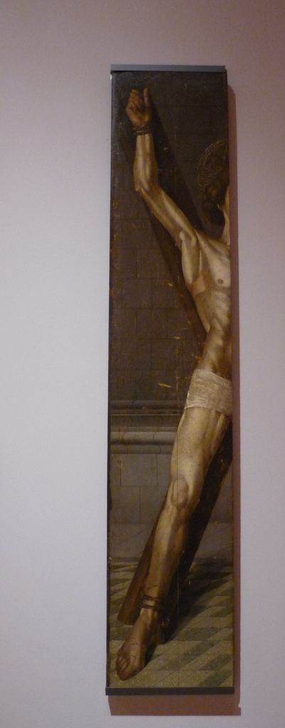 Nuno Gonçalves, St. Vincent on the Saltire Cross (fragment), Oil and tempera on oak panel, c. 1470