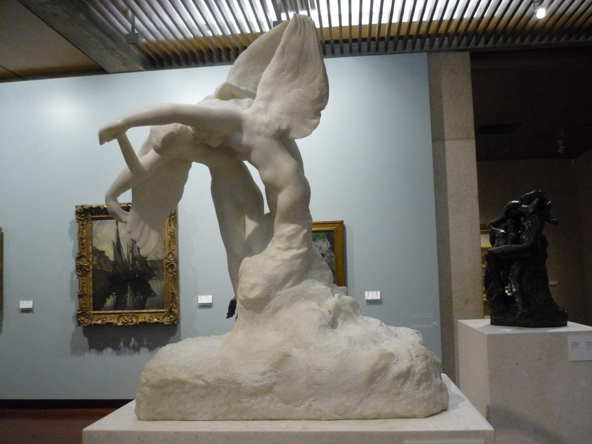 Auguste Rodin, The Blessings, Marble, 1900