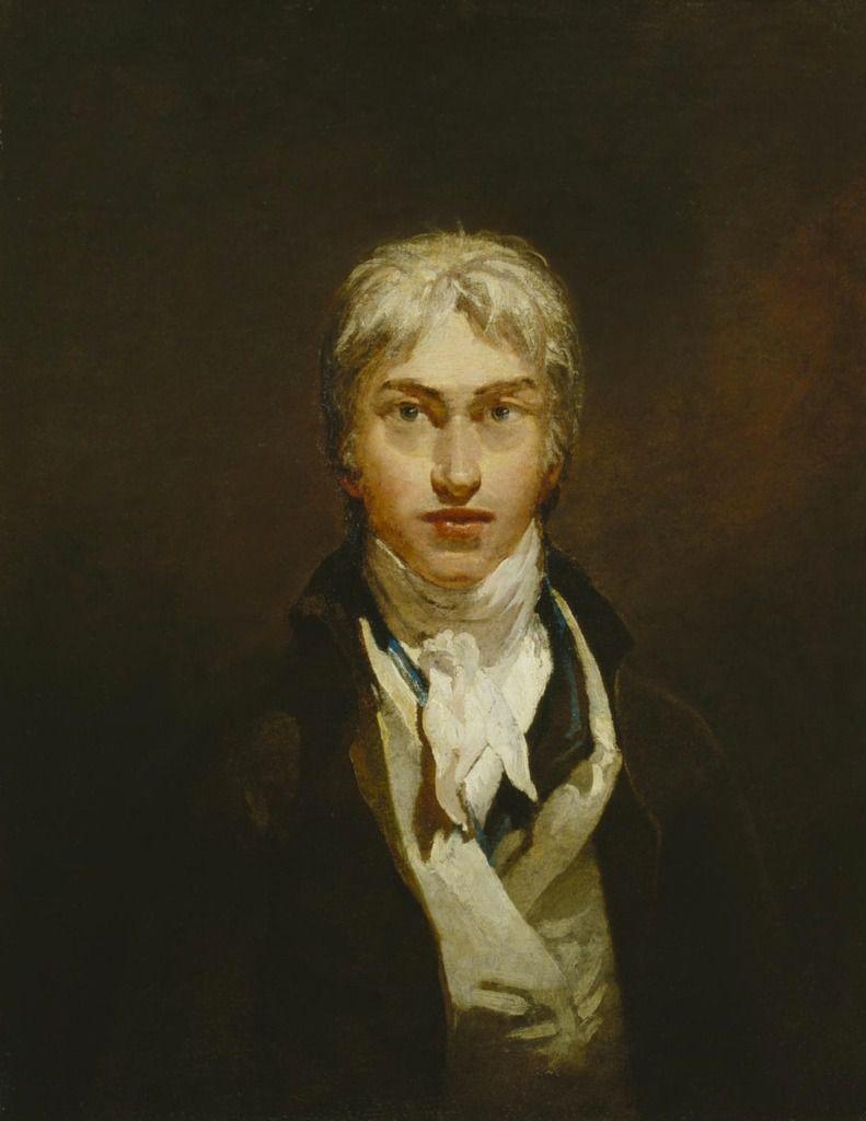 JMW Turner, Self-Portrait c. 1799