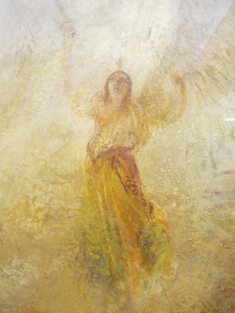 The Angel Standing in the Sun, exhibited 1846