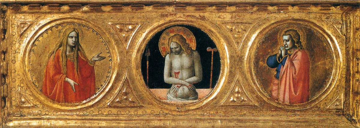Fra Angelico, Three Predella Panels, After 1421, Tempera on panel © Internet