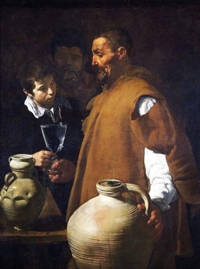 Diego Velazquez, The Water seller of Seville