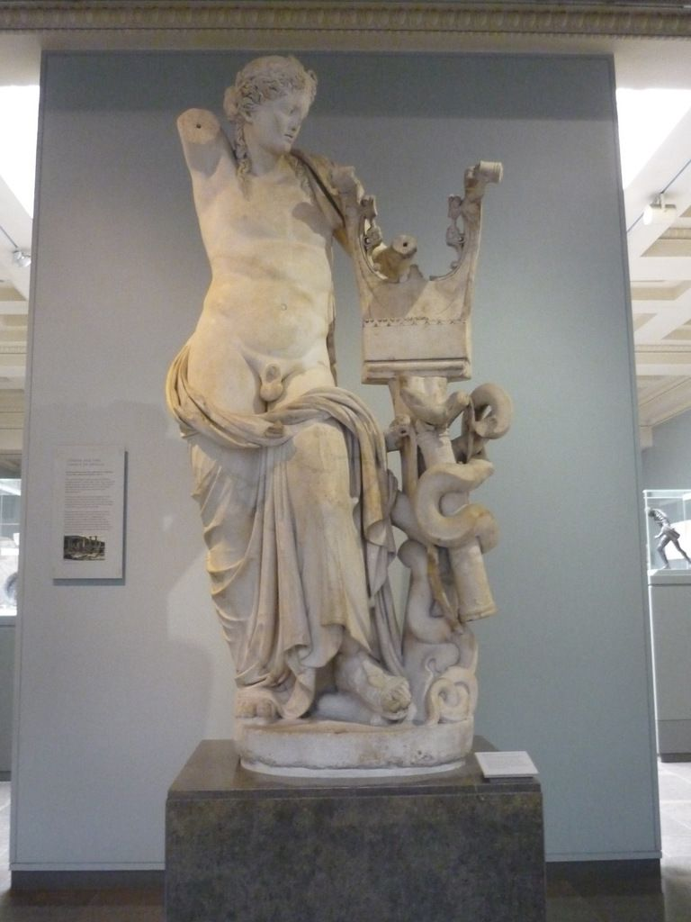 Victorious Young athlète, Roman, 1st century AD, Probably a version of a Greek original about 430 BC, Found in Italy