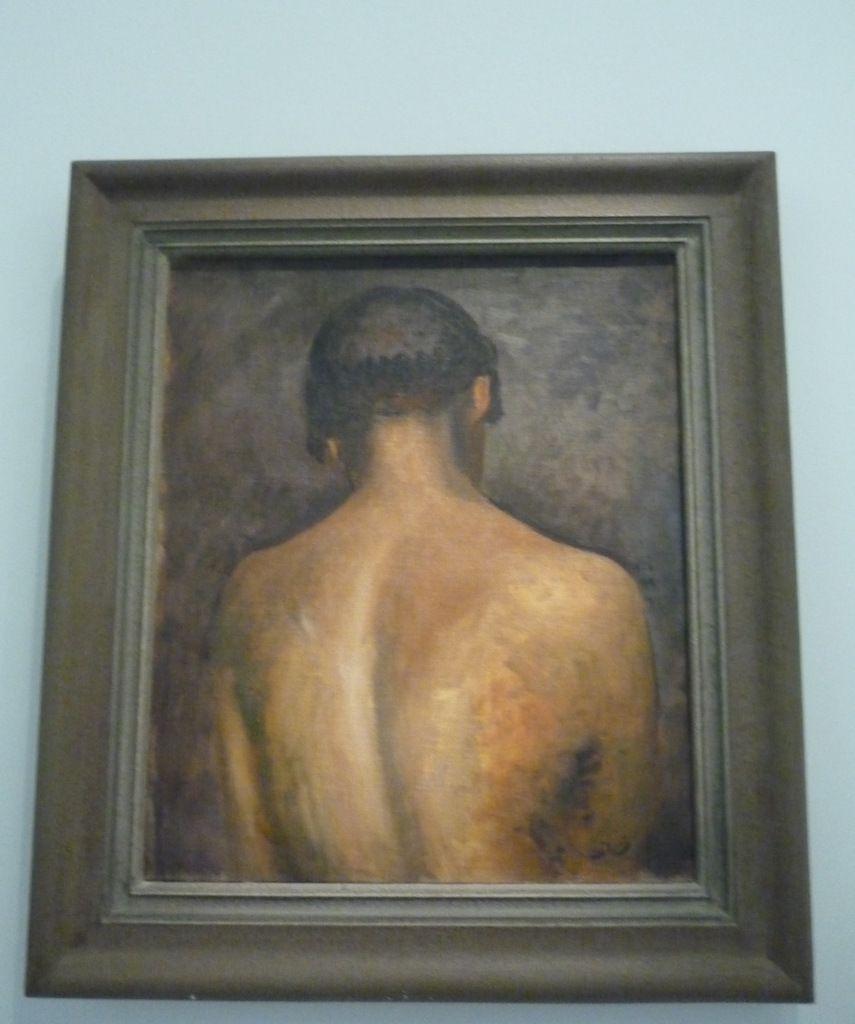 André Derain, le Dos, vers 1923, Huile sur toile, Musée d'Art moderne de la Ville de Paris
