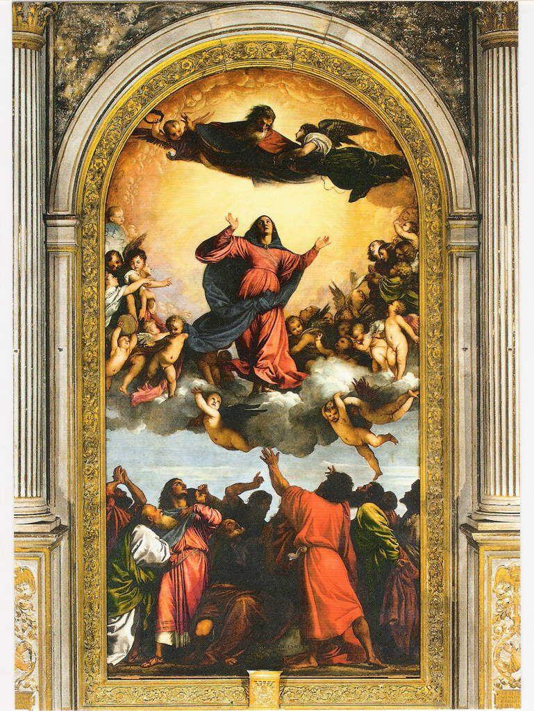 Le Titien, l'Assomption, 1516-1518