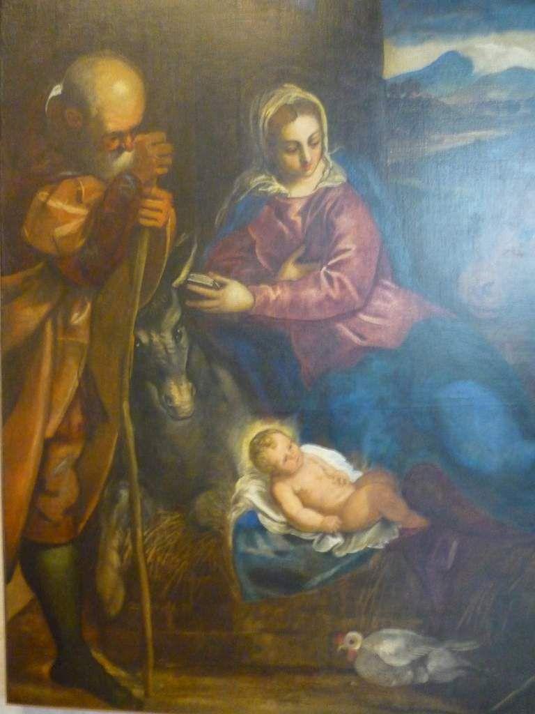 Jacopo Robusti detto Il Tintoretto (1518-1594), Adorazione dei pastori