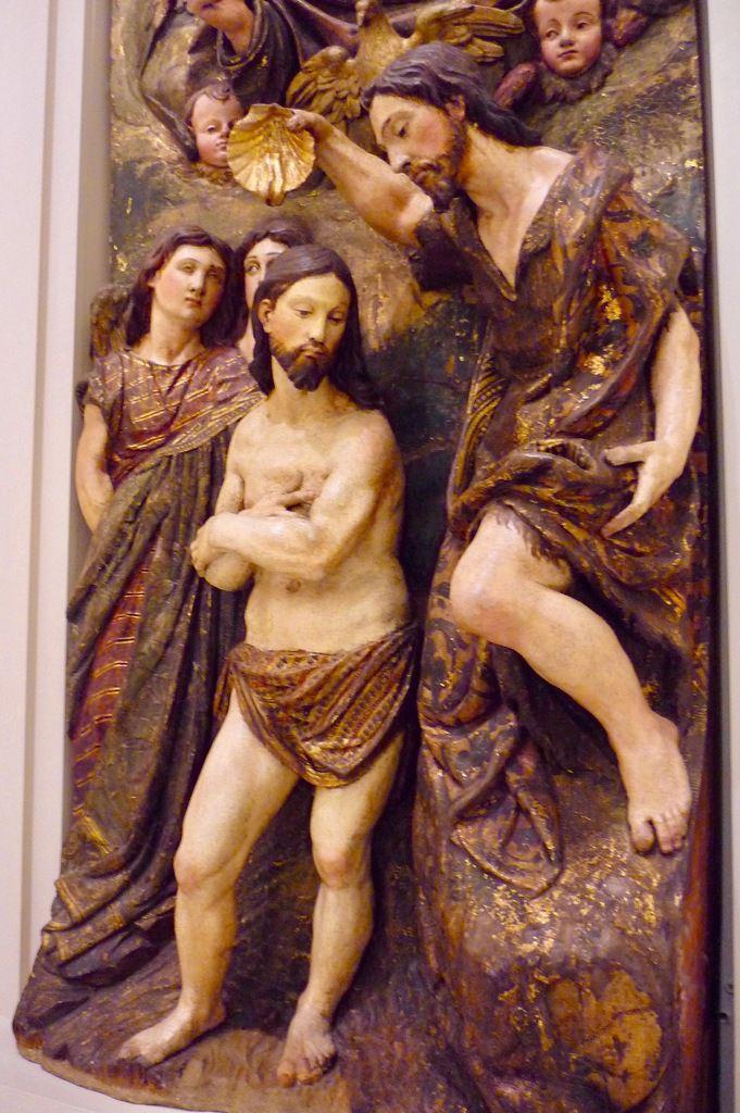 Miguel Adan (1532-1610), Retablo de San Juan Bautista, Monasterio de Las Dueñas, Sevilla, Desamortización (1869)