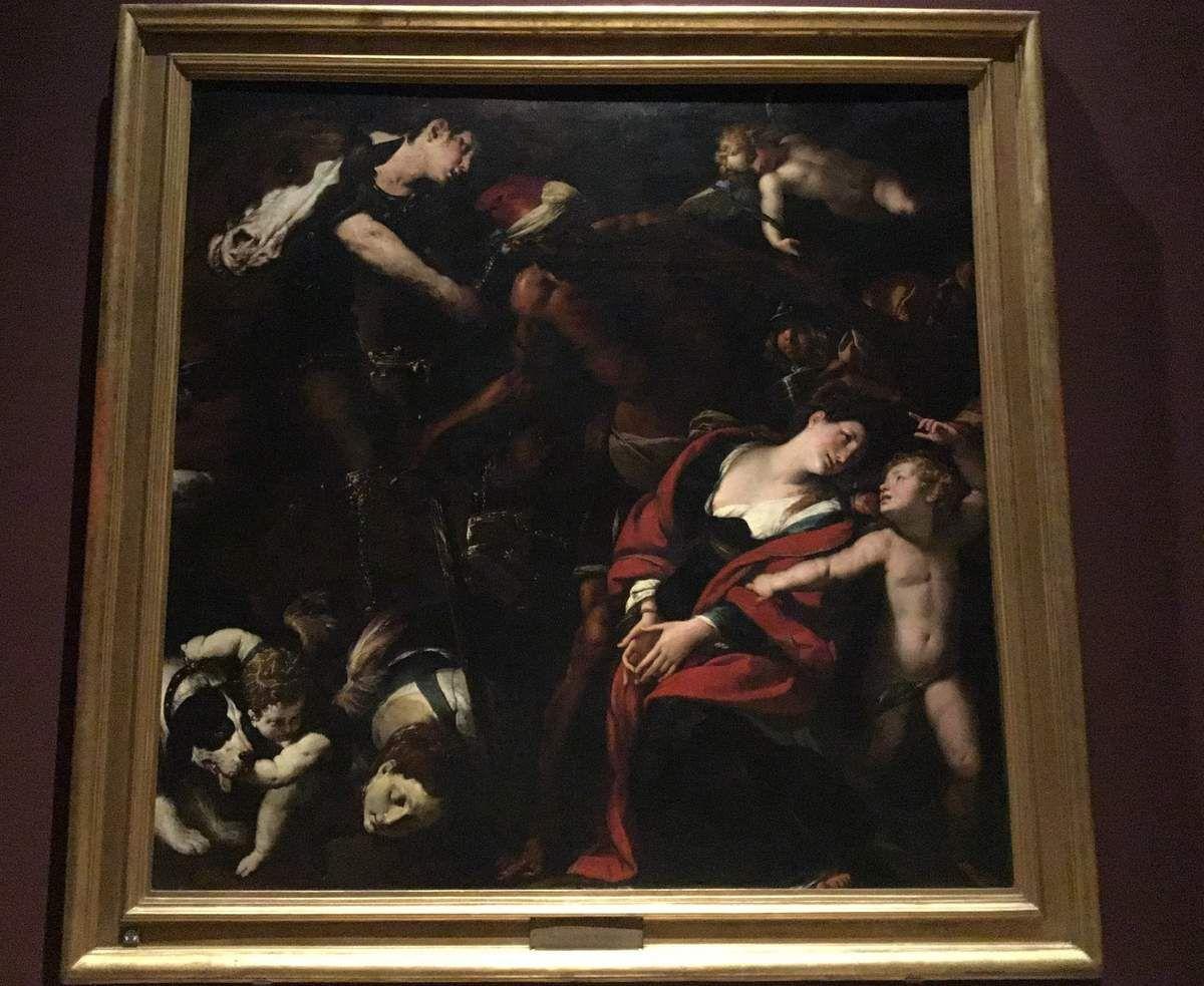 "Cerano (1573-1632), Giulio Cesare Procaccini (1574-1625), Morazzone (1573-1626), Martyrdom of St. Rufina and ST. Secunda (""The Painting by three Artists"") 1620-1624."