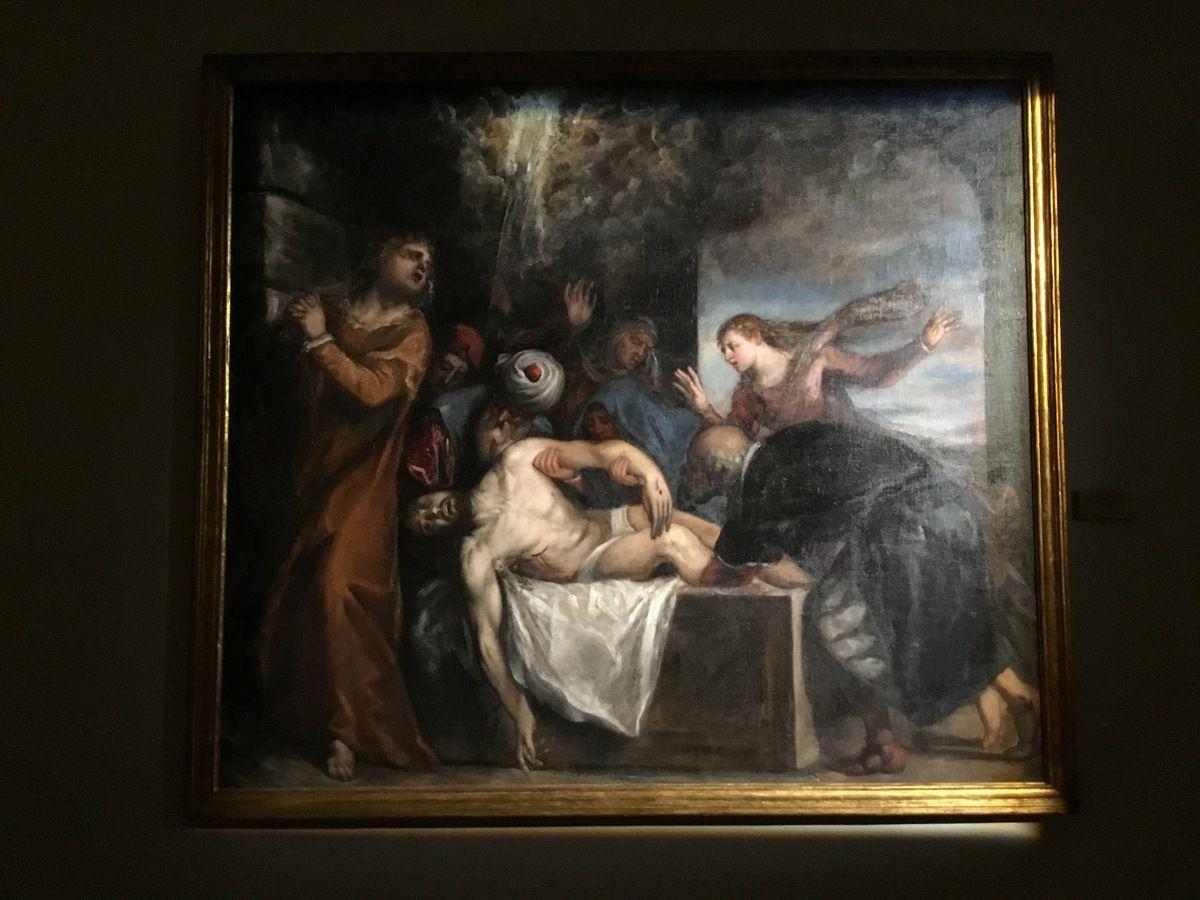Tiziano Vecellio,  Depositione di Cristo nel sepulcro