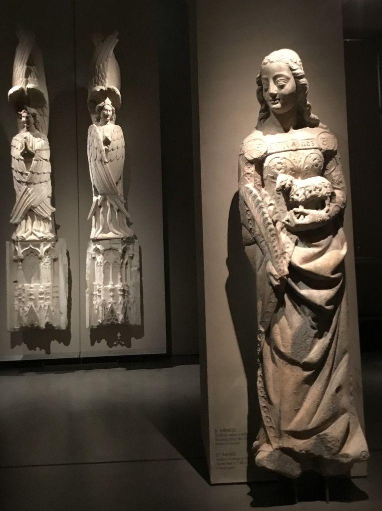 Serafino, Peter Monich, 1403 ; S. Agnese, seconda méta del XIV sec.