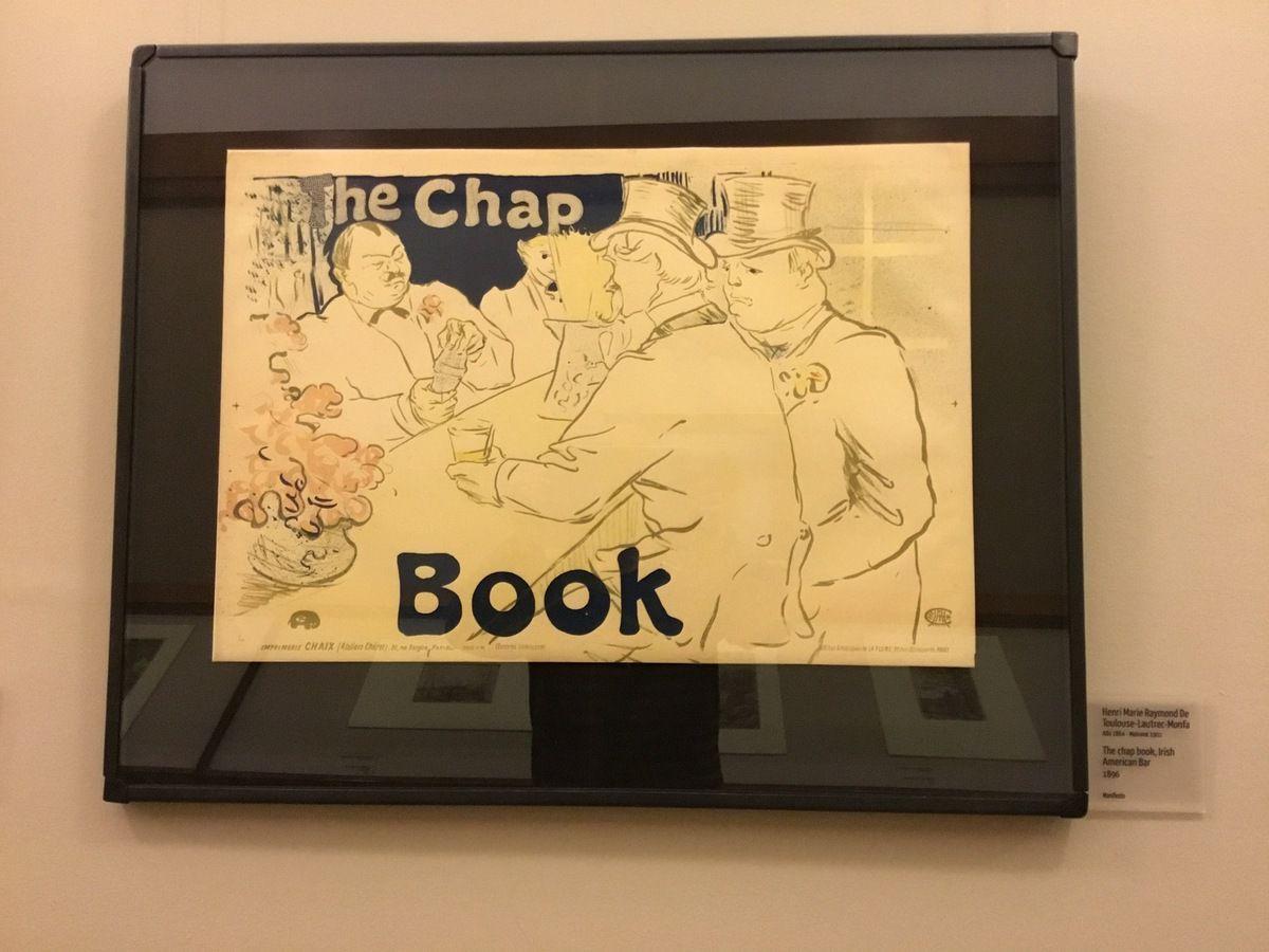 Henri Marie Raymond de Toulouse-Lautrec-Monfa, The chap book, Irish American Bar, 1896