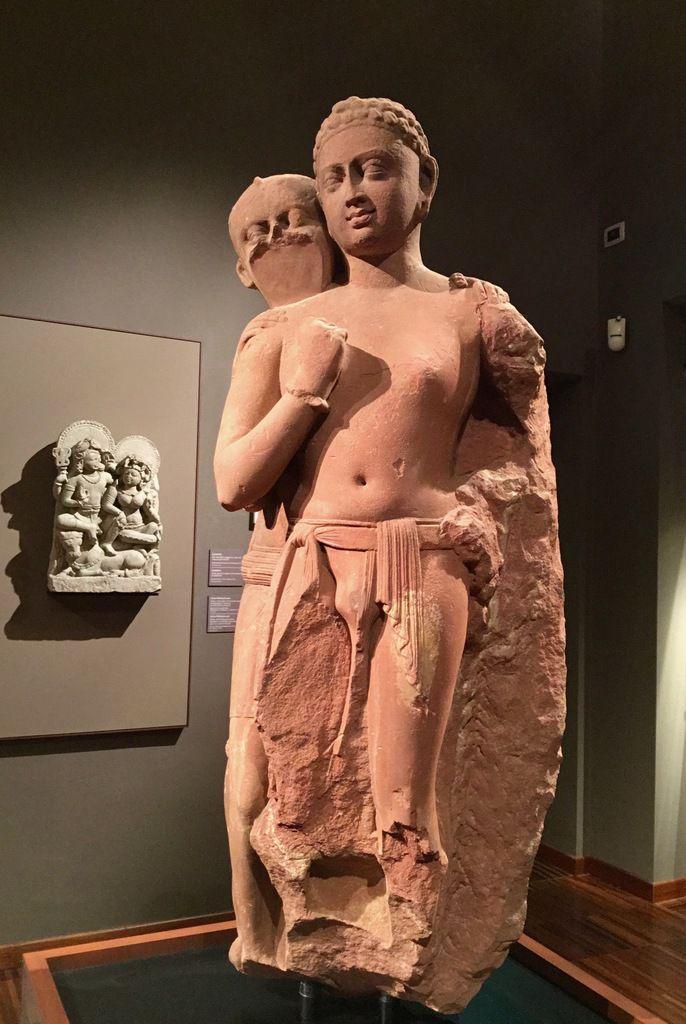 Mricchakatika, Il carrettino di terracotta, Shakara e vita, Mathura (Uttar Pradesh), II-III secolo d.C., Arenaria rossa