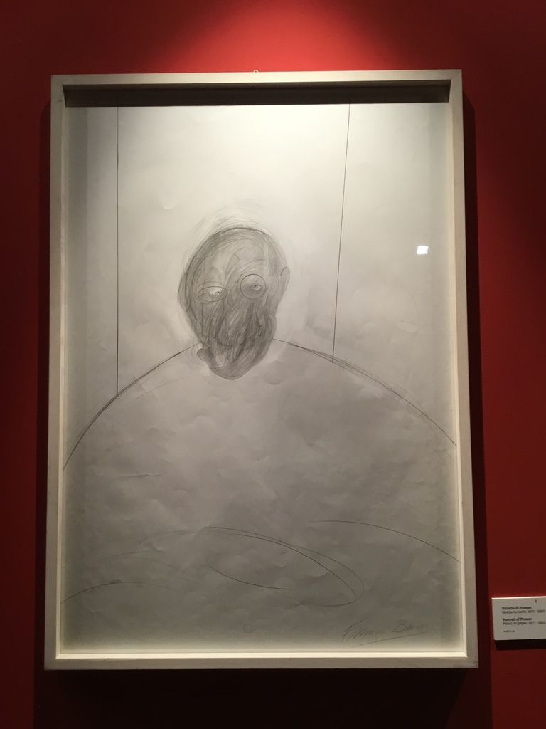 Portrait of Picasso, Pencil on paper, 1977-1992