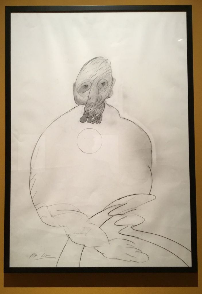 Turning figure, Pencil on paper, 1978