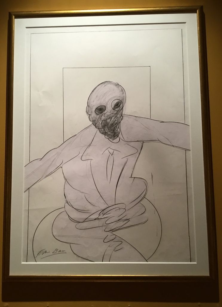 Seated figure, Pencil on paper, 1977-1992