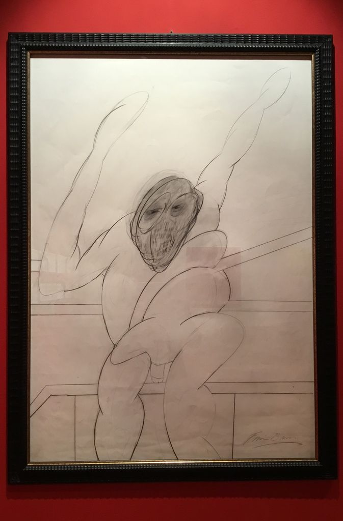 Baboon, Pencil on paper, 1977-1992
