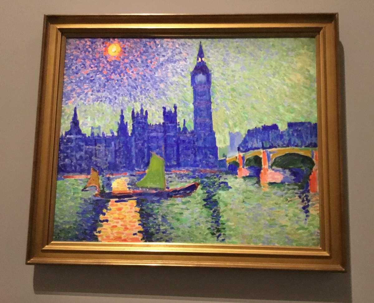 André Derain, Big Ben, 1906-1907, Huile sur toile, Troyes, musée d'art moderne