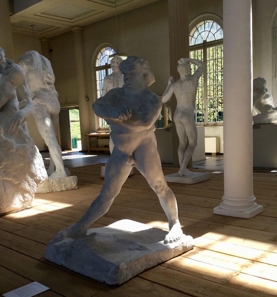 Balzac étude de nu au gros ventre, bras croisés devant, vers 1894 (?), plâtre