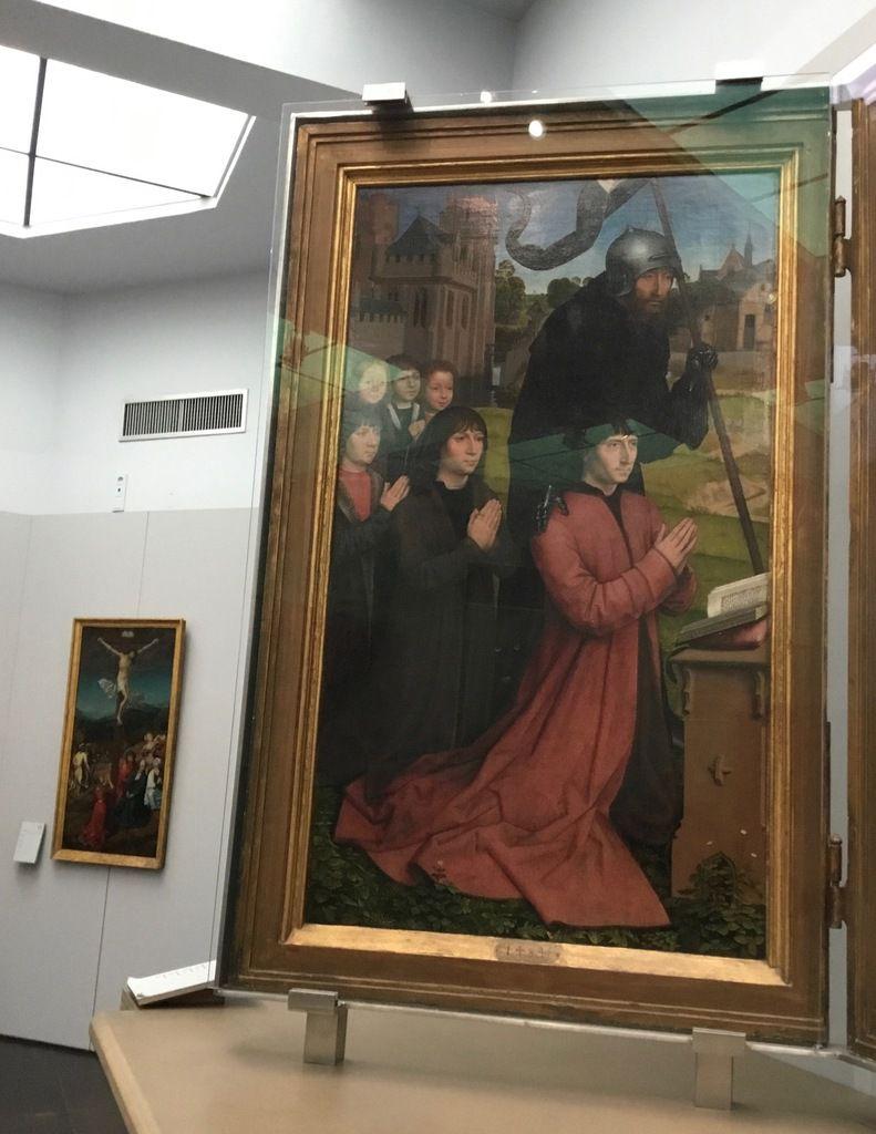 Hans Memling (± 1433-1494), Triptyque Morel, 1484, Huile sur panneau