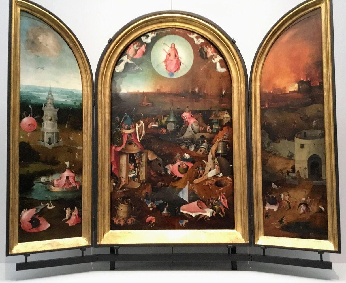 Jheronimus Bosch, le Jugement dernier (ca. 1500-1505), Huile sur panneau