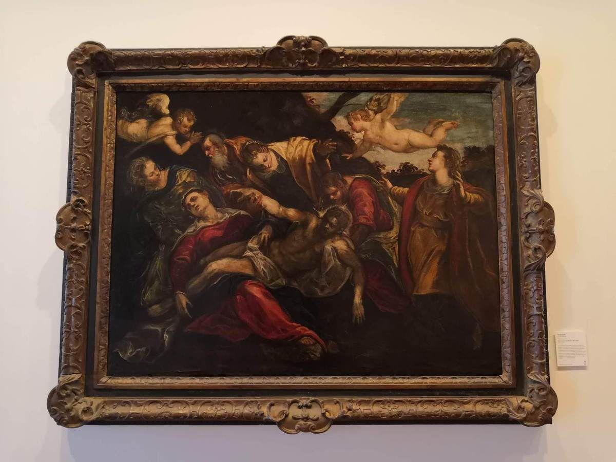 Le Tintoret, Déploration du Christ, v. 1580